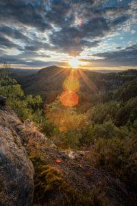 Sonnenuntergang am Mariina Skala